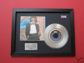 "MICHAEL JACKSON - Dont Stop .... 7"" Platinum DISC with cover"